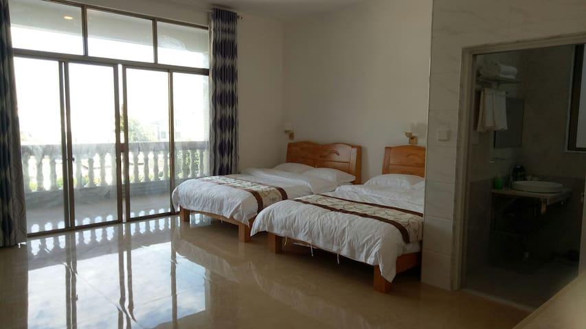 侨港海滩怡悦民宿标间