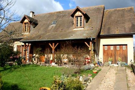 2 Belles chambres 10min de Giverny - Jeufosse