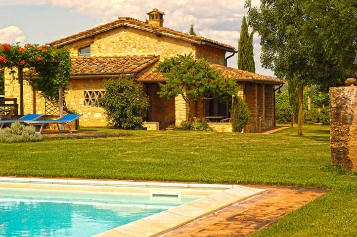 Villa with private pool - Siena - Villa
