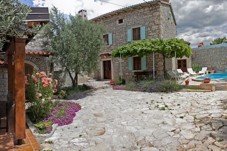 Villa Orihi - two houses with pool - Orihi 24