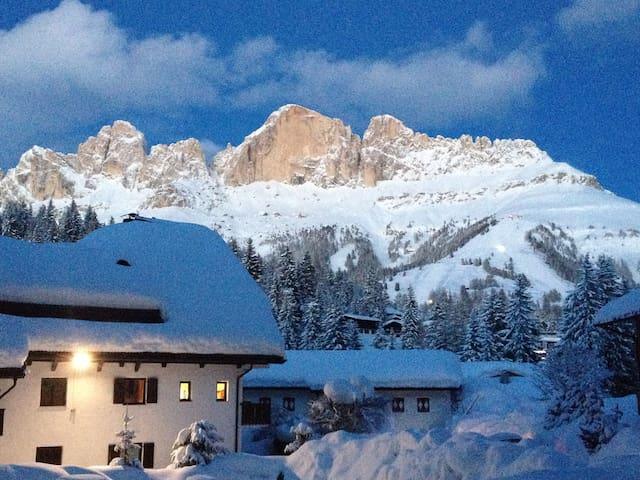 Alps: an apartment in the Dolomites - Carezza - Apartemen