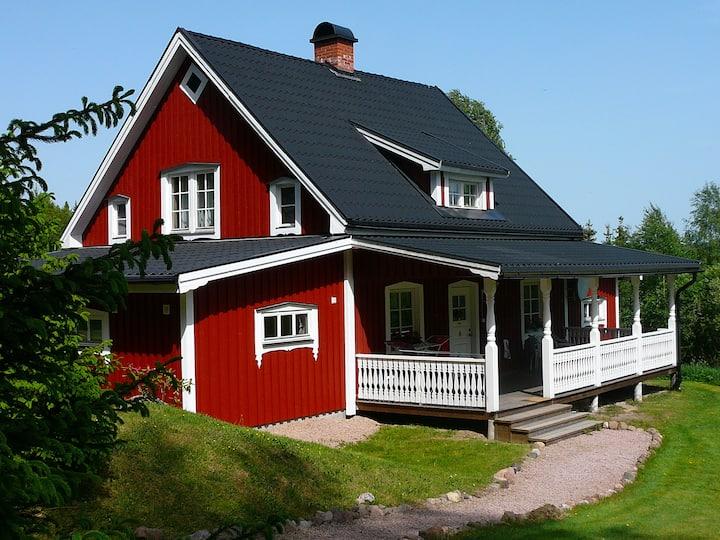"Ferienhaus ""Utterbysäter Lodge"""