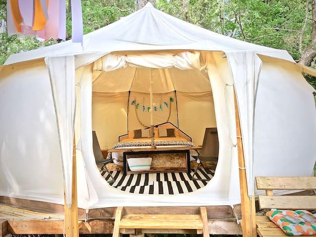belle-tent & mini casa para 4, PN huerquehue glamp