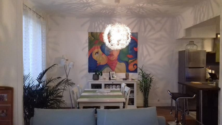 Chambre spacieuse et agréable dans quartier calme - Vichy - Apartamento