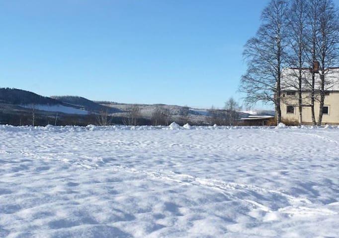 Naturnära boende i byn Åsen - Älvdalen - Hus