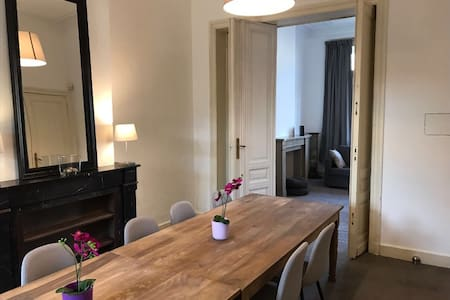 Charming renovated apartment for groups/families - Bruxelles - Apartamento