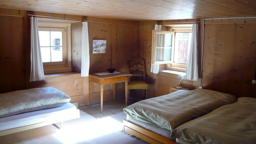 Chesa sur Alvra - Bergün/Bravuogn - Rumah