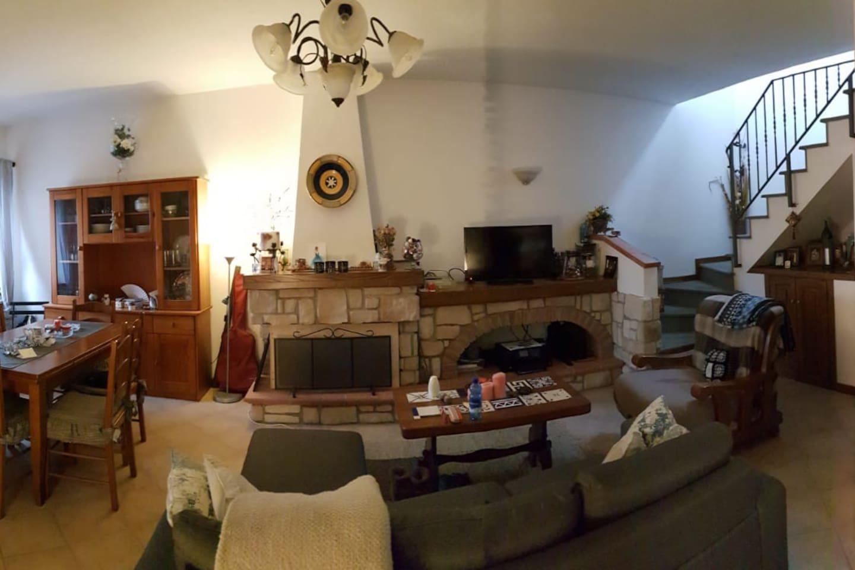 My comfy living room!