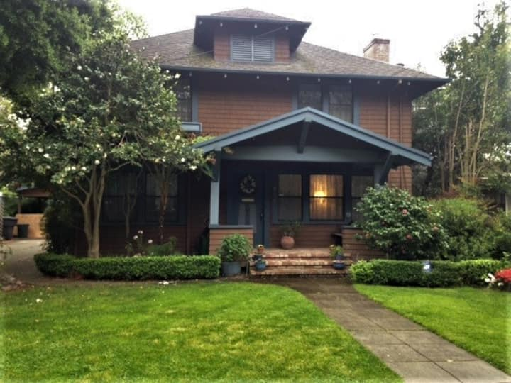 Historic 1880's Craftsman Style Home with Pool.