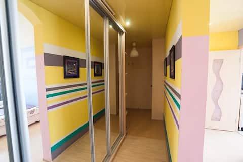 Уютная однокомнатная квартира в центре
