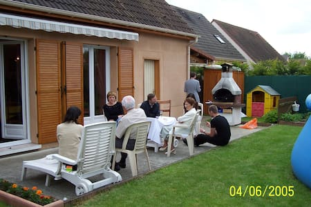 maison avec jardin et barbecue - Bailly-Romainvilliers - Huis