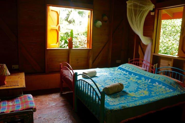 Guava - Beyond Vitality Nature Camp - Castle Bruce - Doğa içinde pansiyon
