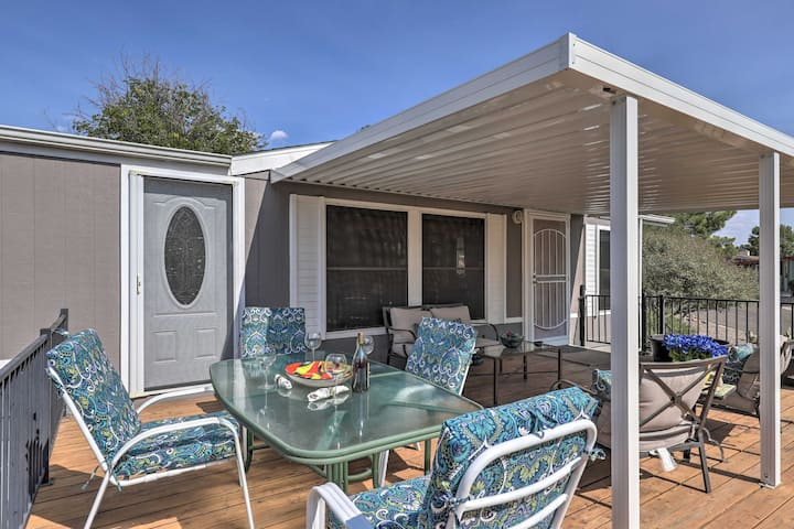 NEW! Cornville Home w/ Pool Access; Pets Allowed!