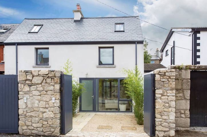 Top floor master ensuite with two rooftop terraces - Rathmines