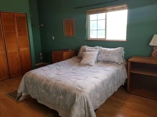 Private bedroom in lovely estate
