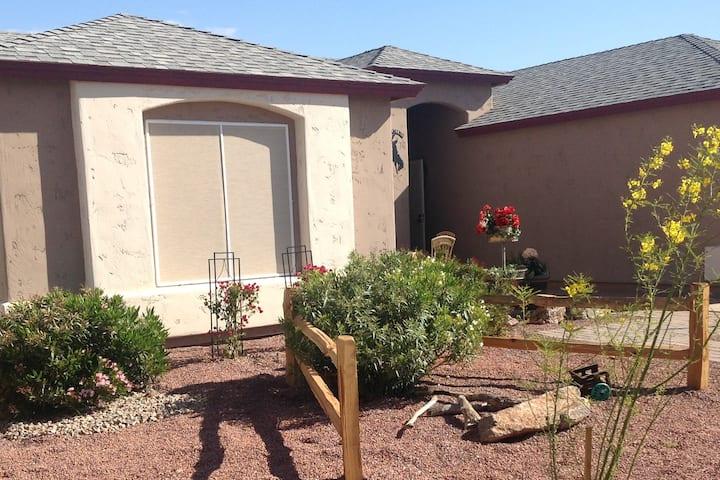 Pool House in Case Grande, Arizona