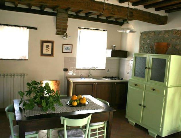 Gli Olivi:bilocale in antico casale - Sovicille - Lägenhet