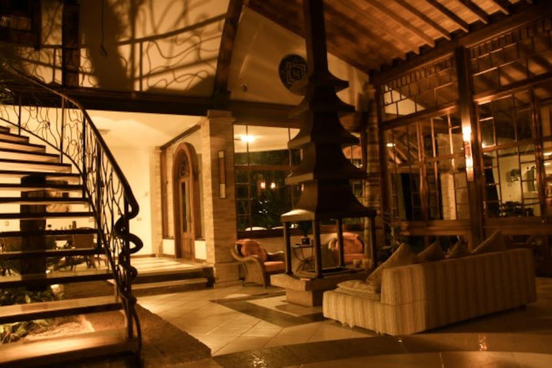 Casa luxuosa ou suites exteriores