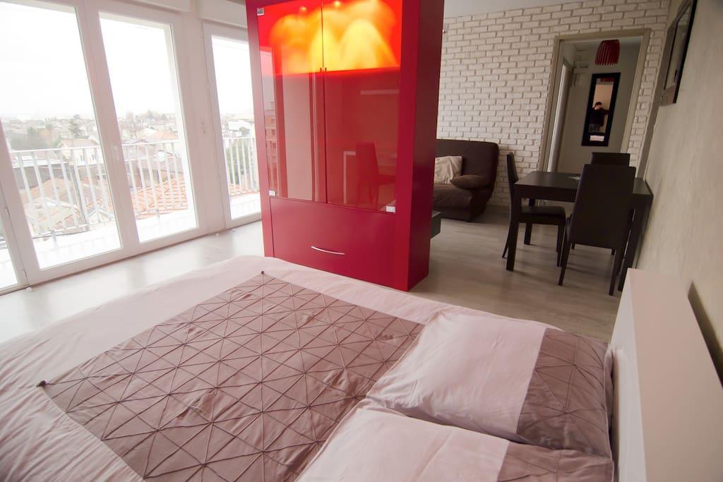 Appartement très lumineux, tout confort, très belle vue dégagée