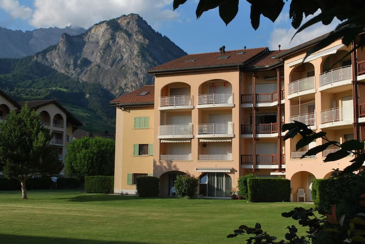 Studio rental Saillon Valais 2 pers - Saillon - Apartment