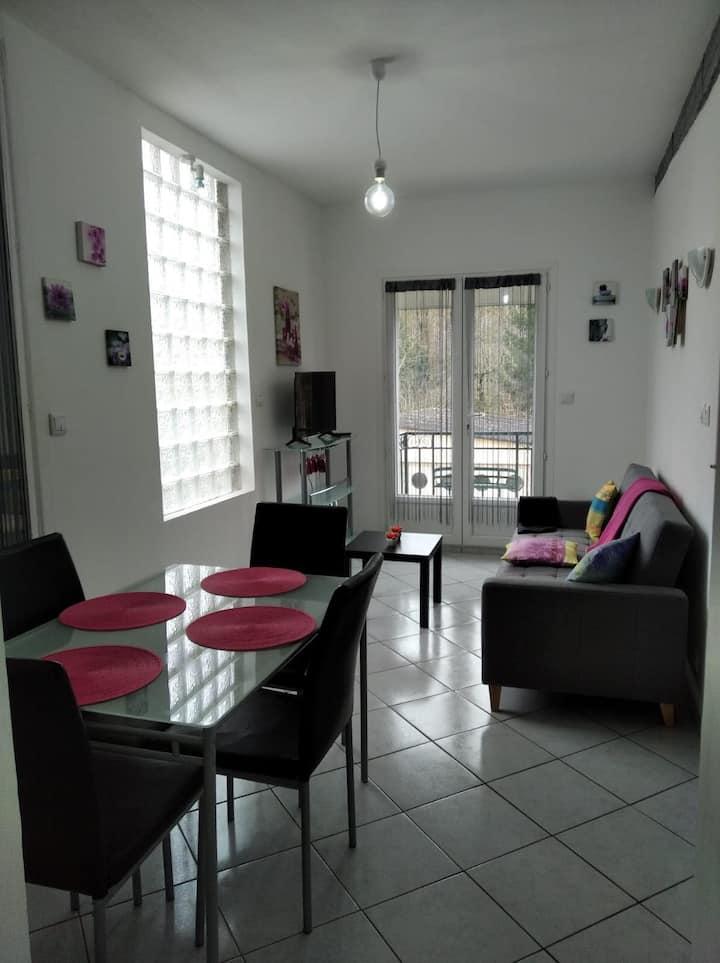 Maison 50 m² au bord du Clain - 5 min centre-ville