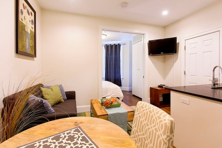 Modern South End Pied a Terre | 1BR 1BA