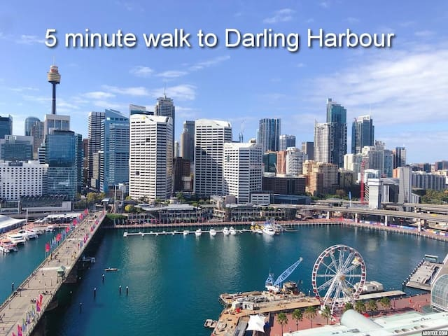 Top Location! Walk to Darling Harbour, ICC &Casino
