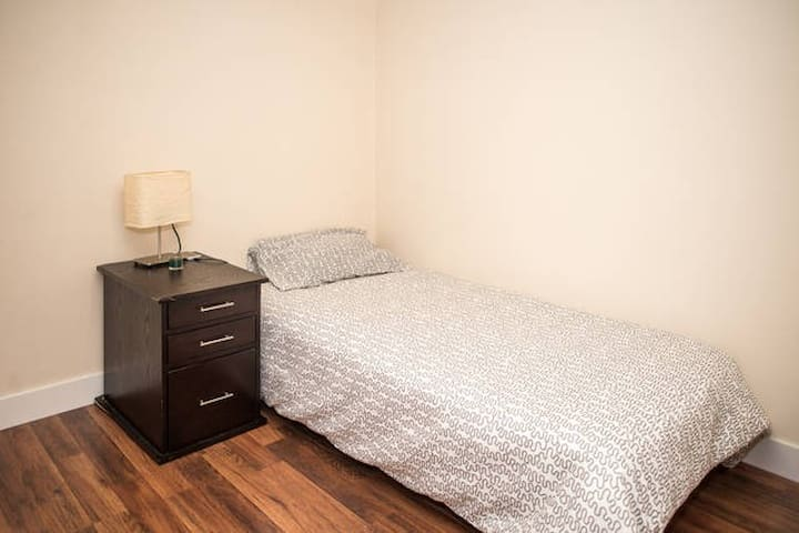 Twin size bed perfect for business or school. - Bellevue
