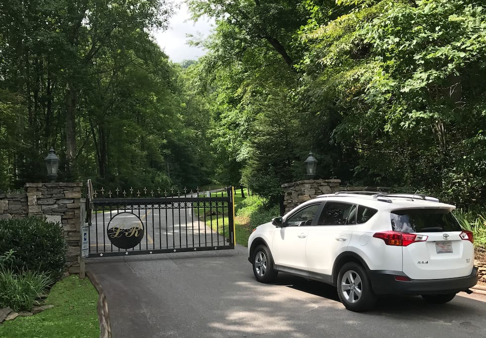 Securely located in one of Western North Carolina's finest gated communities...