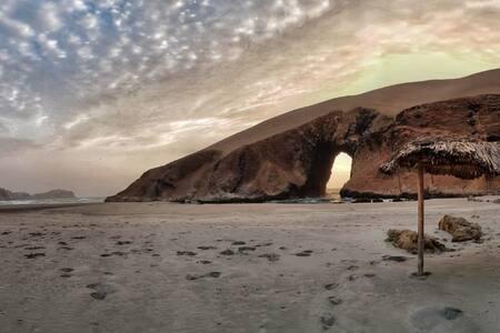 Playa Patitos, vivienda ecológica (Casa completa)