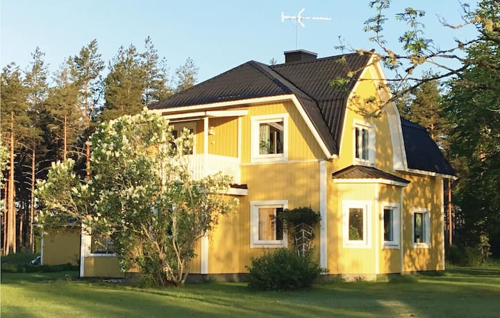 Nice home in Virserum with WiFi and 3 Bedrooms