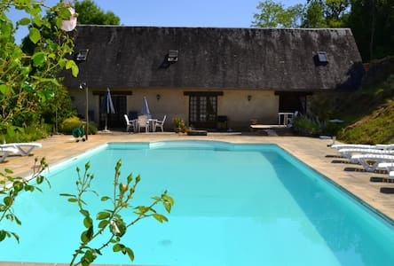 Gîte Tannat - 4p - with swimming pool 12x6 - Souillac