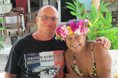 Chez Daniel et Loana chambre luxe - Bora Bora - Bed & Breakfast