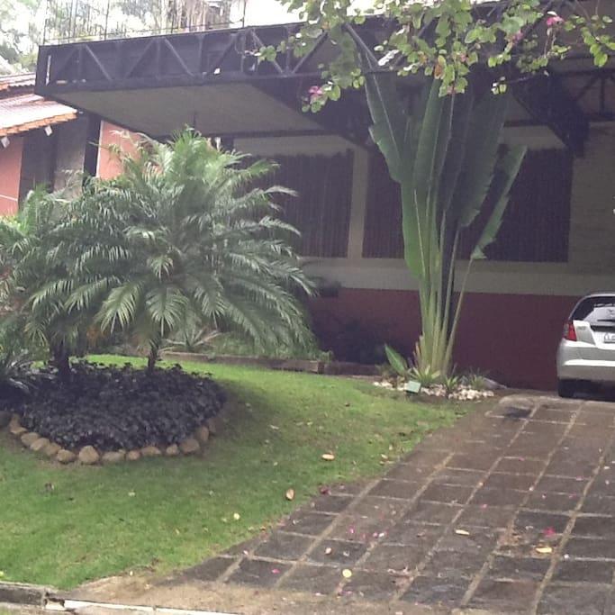Frente da casa - 1 andar