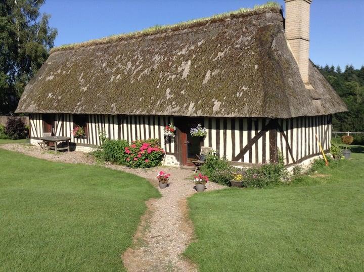 Chaumière Normande en Pays d'Auge