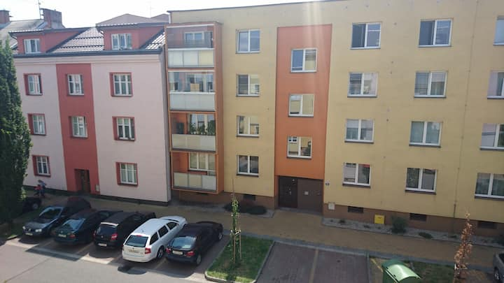 Apartment in center of Ostrava for 4+ people