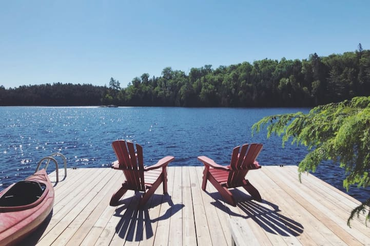 Kawartha Hideaway with Lake, Dock, Firepit, & View