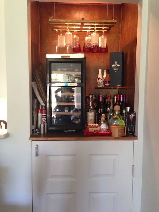 Wine fridge-sorry wine not included