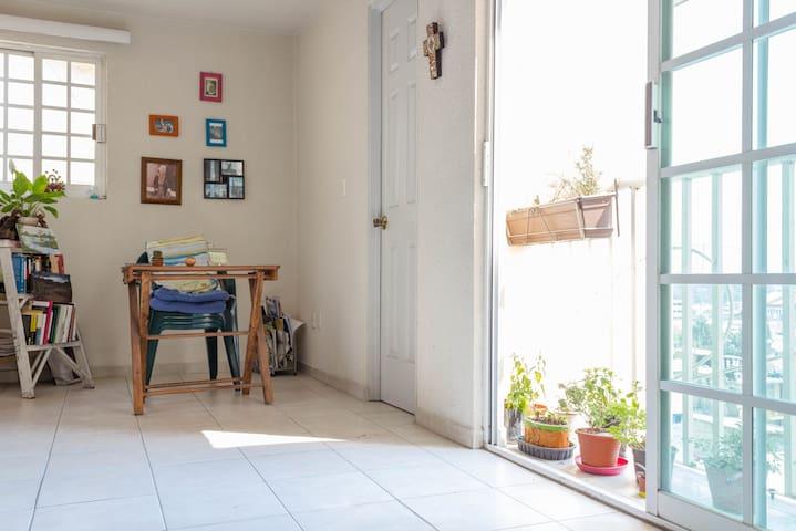 Isla de luz  y vida en Tlalnepantla - Tlalnepantla - Appartamento