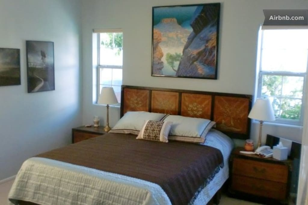 Main bedroom for couple.