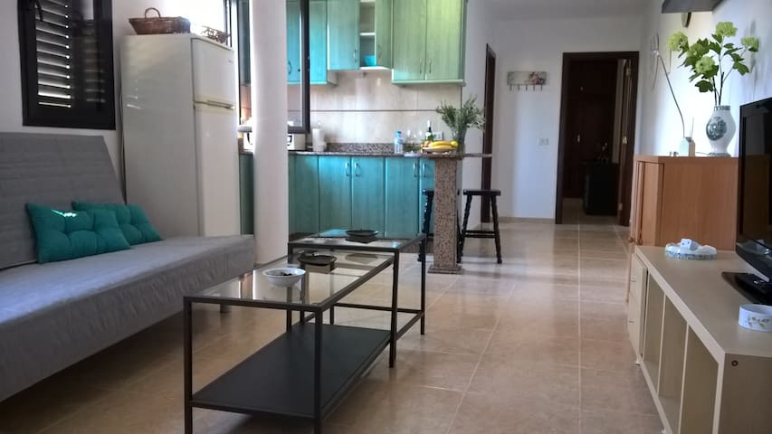 Recently updated flat near tourist area!! - Vecindario - Appartement