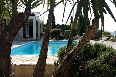 Private Bungalow with Pool in Paphos Countryside - Psathi - Bungaló