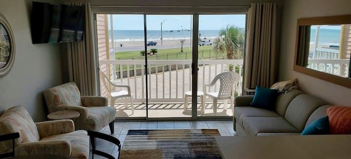 Beachfront Condo on the Seawall