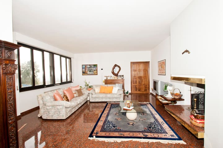 VILLA FONTAINE  - terrace on the Valdichiana - 6pt - Monte San Savino - Villa