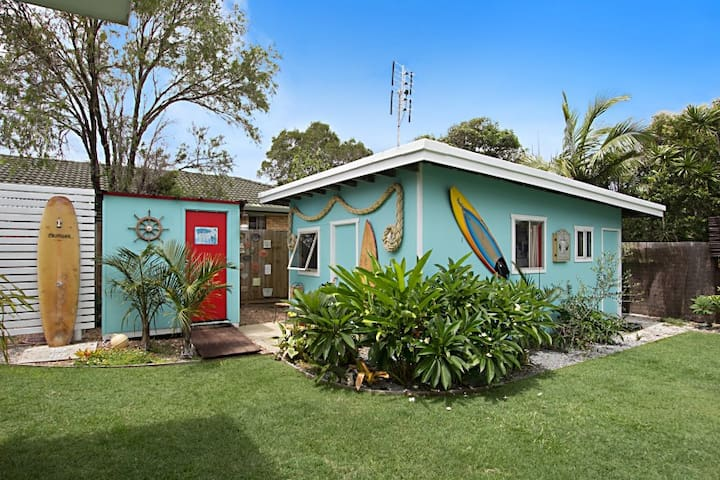 Beach Shack- Unique B&B by the Sea