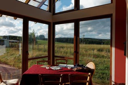 bio-kamer met prachtig uitzicht  - Büllingen - Σπίτι