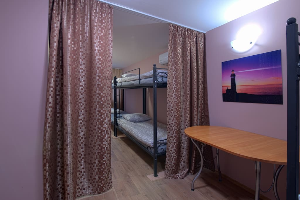 8-bed Mixed Dorm