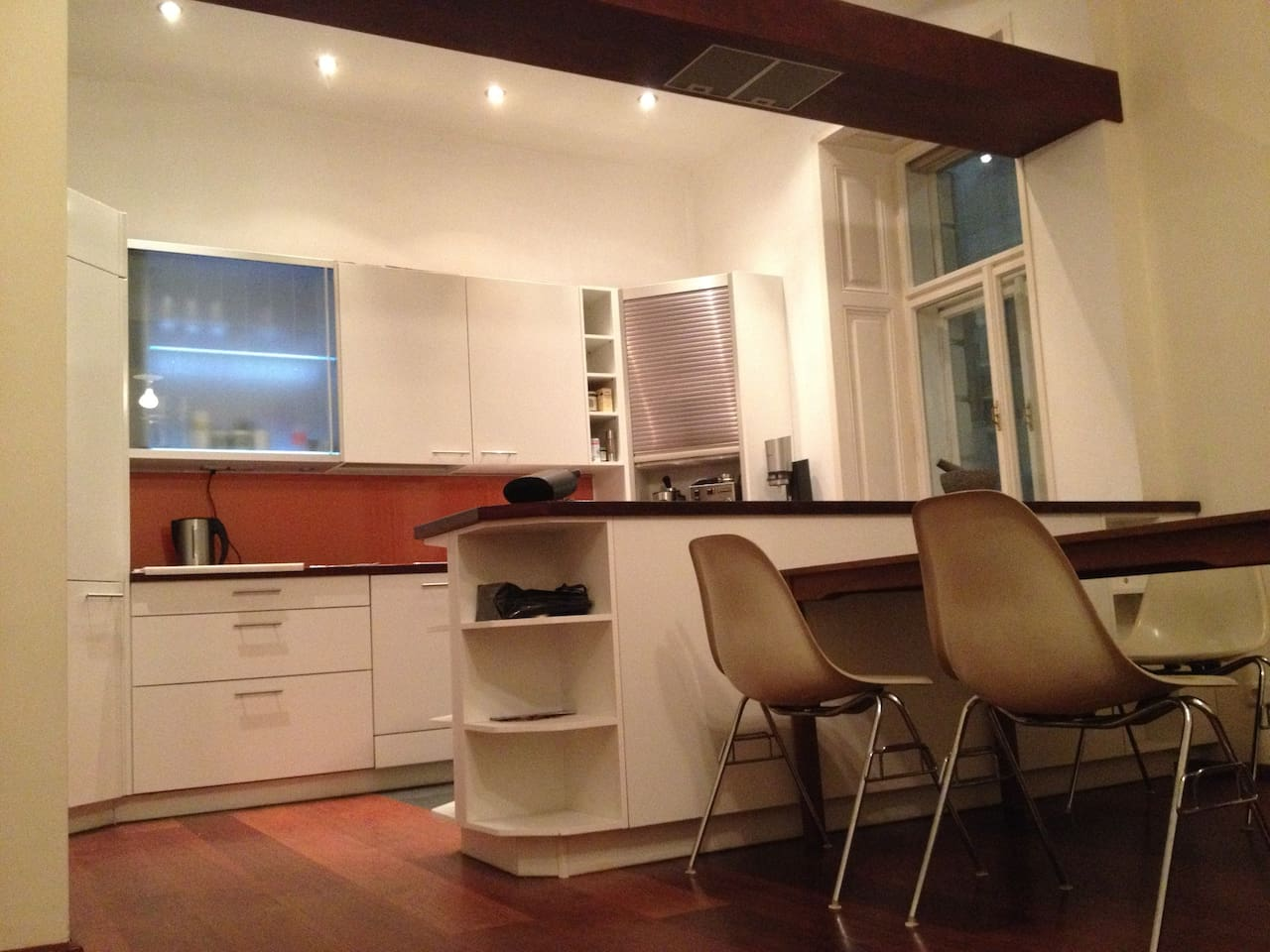 shared kitchen..