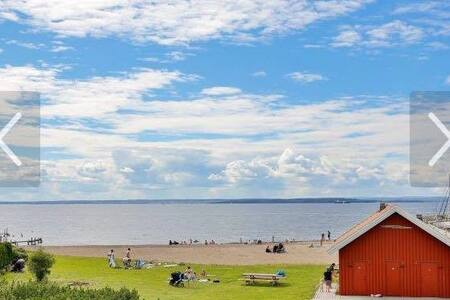 Beautiful calm summer/holiday place at the beach - Rygge - Ferienunterkunft