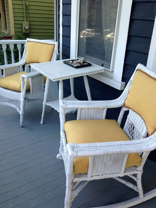 Come sit on the porch and stay awhile